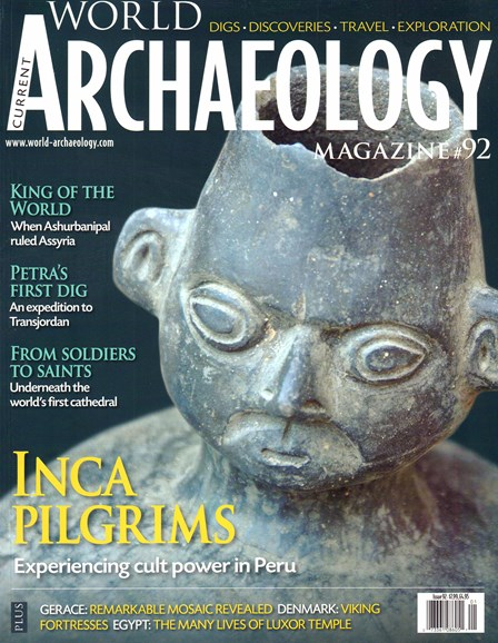Current World Archaeology Cover - 12/1/2018