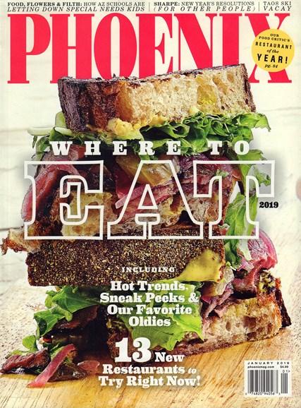 Phoenix Magazine Cover - 1/1/2019