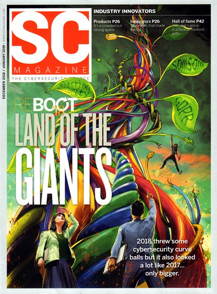 SC Magazine - U.S. edition Cover - 12/1/2018