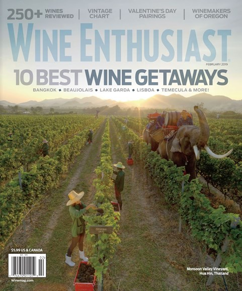 Wine Enthusiast Cover - 2/1/2019