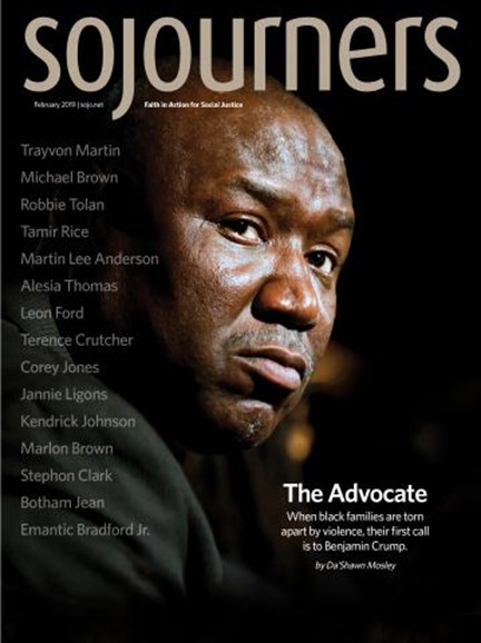 Sojourners Cover - 2/1/2019