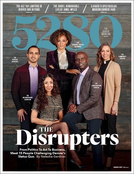 5280 Magazine Cover - 1/1/2019