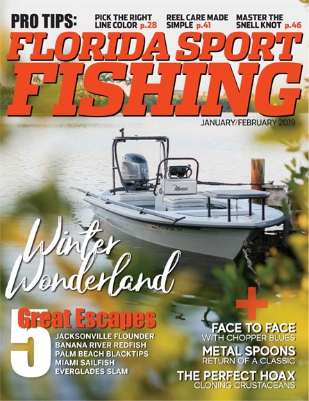 Florida Sport Fishing Cover - 1/1/2019