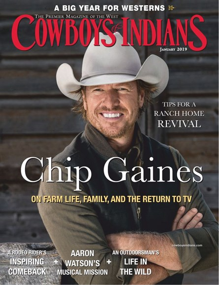 Cowboys & Indians Cover - 1/1/2019