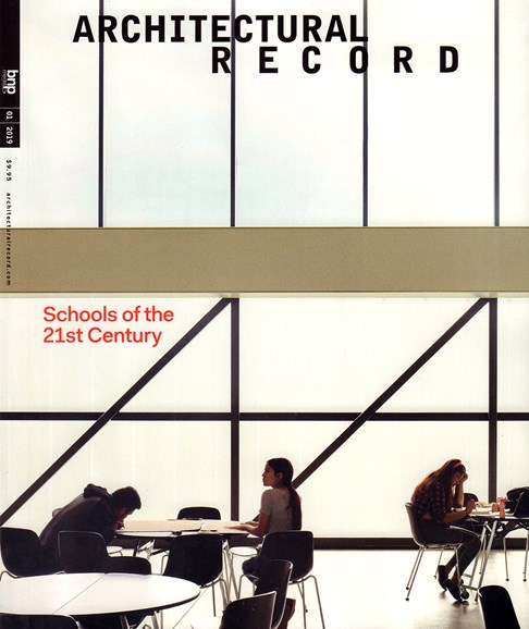Architectural Record Cover - 1/1/2019