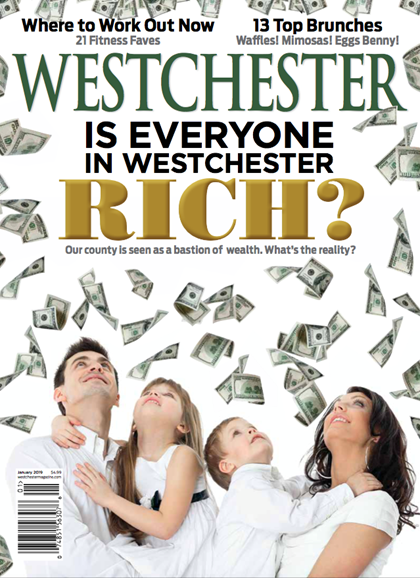 Westchester Magazine Cover - 1/1/2019