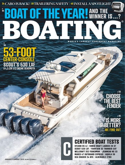 Boating Cover - 1/1/2019