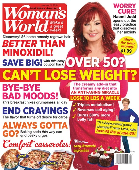 Woman's World Cover - 1/21/2019