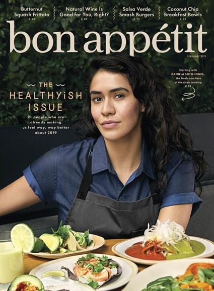 Bon Appétit Cover - 2/1/2019