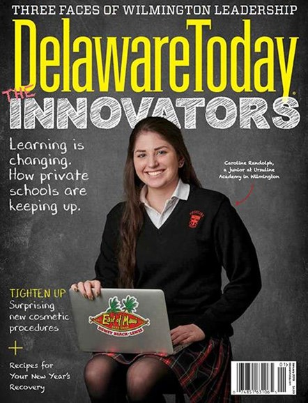 Delaware Today Cover - 1/1/2019