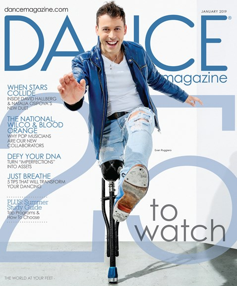 Dance Magazine Cover - 1/1/2019