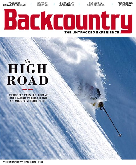 Backcountry Cover - 1/1/2019