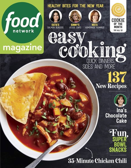 Food Network Cover - 1/1/2019