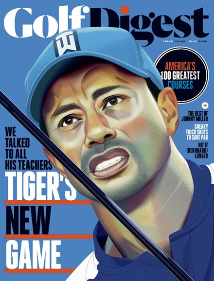 Golf Digest Cover - 2/1/2019