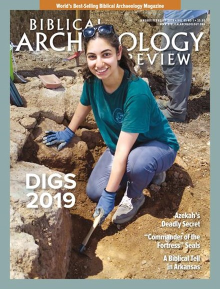 Biblical Archaeology Review Cover - 1/1/2019