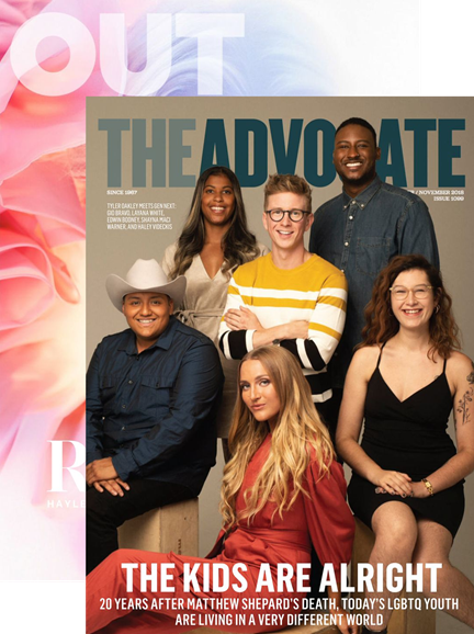Out & The Advocate Edition Cover - 10/1/2018