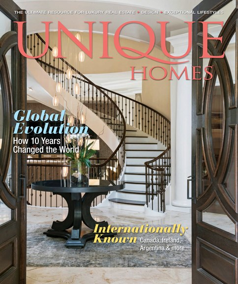 Unique Homes Cover - 11/1/2018