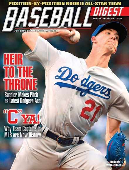 Baseball Digest Cover - 1/1/2019