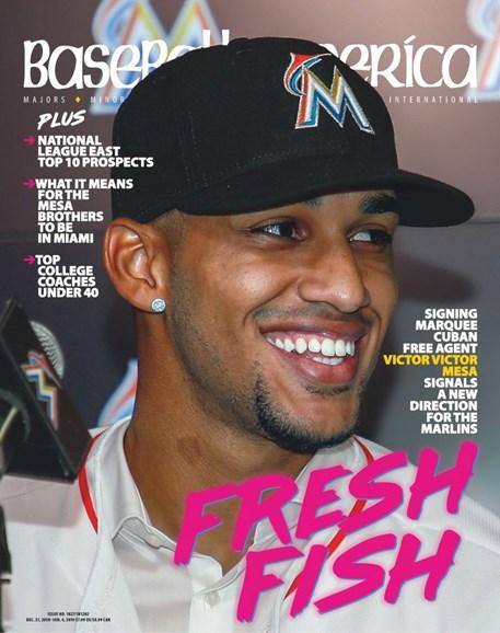Baseball America Cover - 12/21/2018
