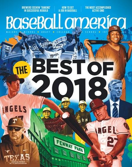 Baseball America Cover - 12/7/2018