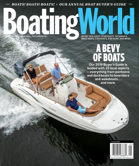 Boating World Cover - 1/1/2019