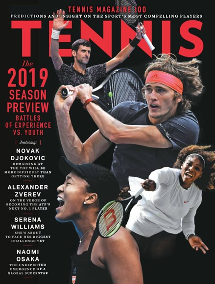 Tennis Magazine Cover - 1/1/2019
