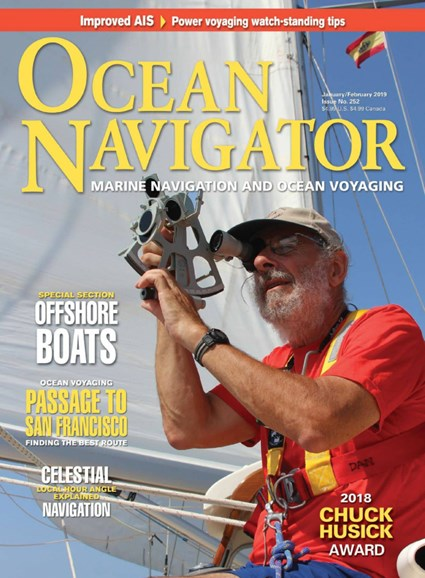 Ocean Navigator Cover - 1/1/2019