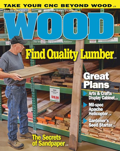 Wood Cover - 3/1/2019