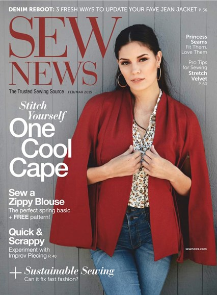 Sew News Cover - 2/1/2019