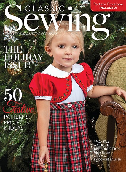 Classic Sewing Cover - 12/1/2018