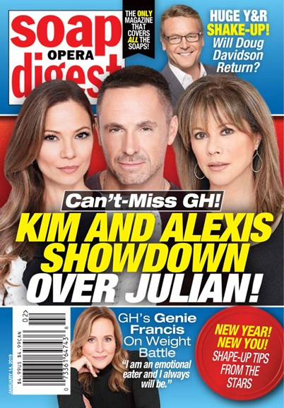 Soap Opera Digest Cover - 1/14/2019