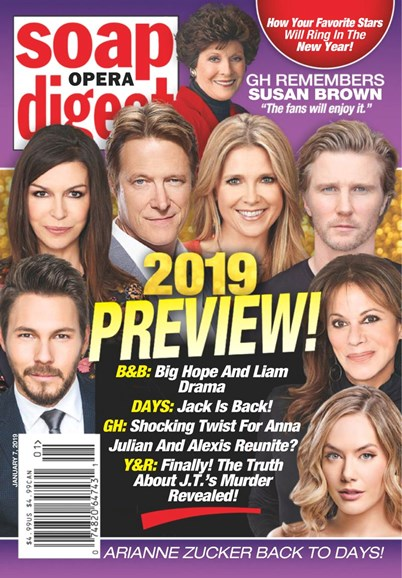Soap Opera Digest Cover - 1/7/2019