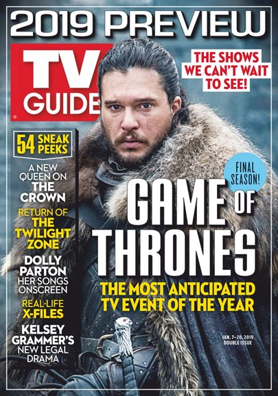 TV Guide Cover - 1/7/2019