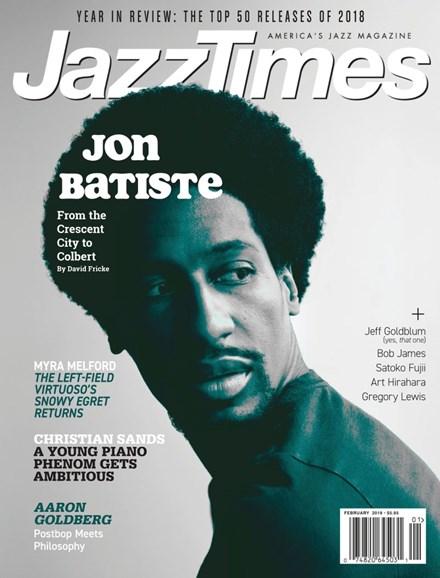 JazzTimes Cover - 1/1/2019