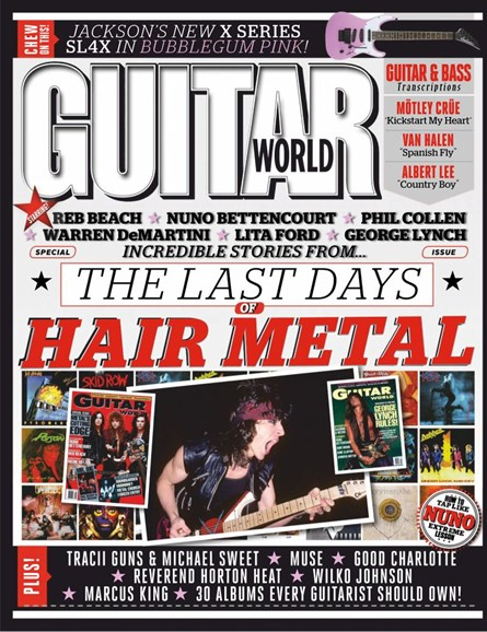 Guitar World Cover - 2/1/2019