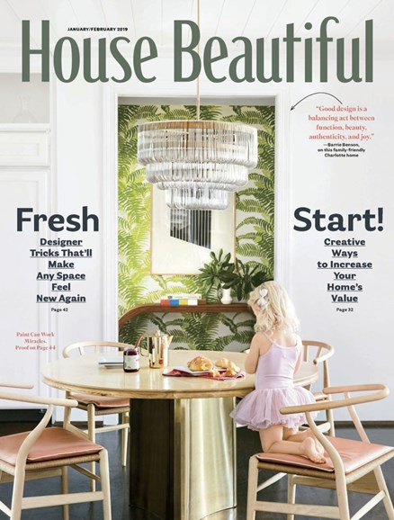 House Beautiful Cover - 1/1/2019