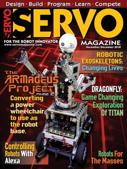 Servo Magazine Cover - 11/1/2018