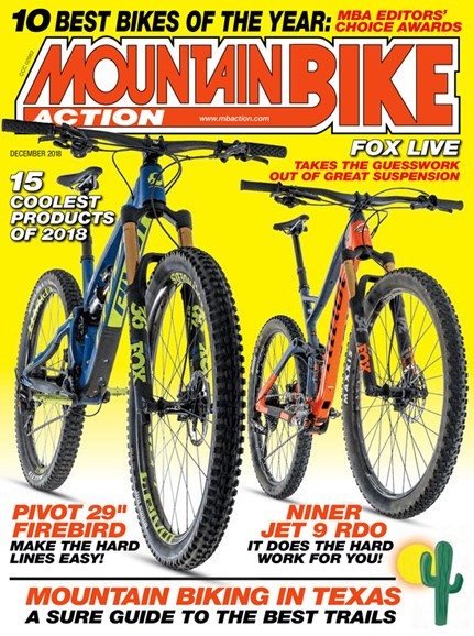 Mountain Bike Action Cover - 12/1/2018