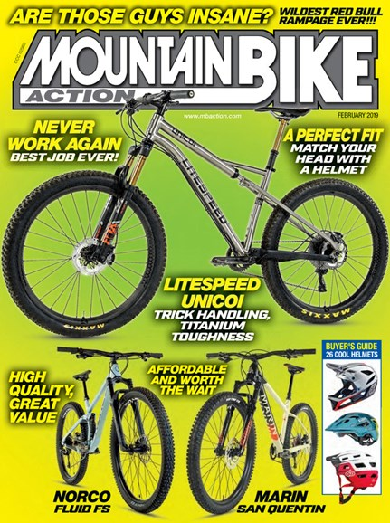 Mountain Bike Action Cover - 2/1/2019