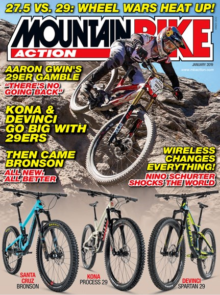 Mountain Bike Action Cover - 1/1/2019