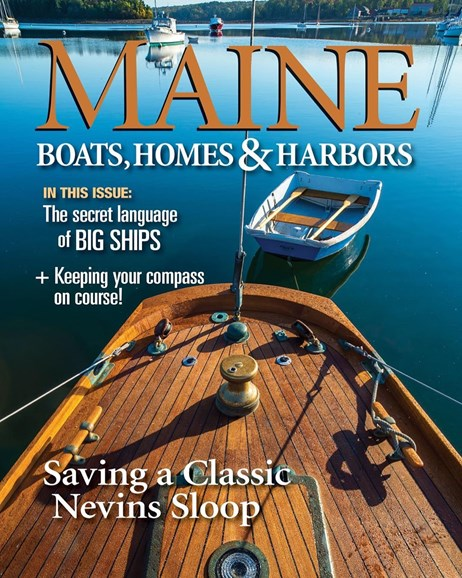 Maine Boats, Homes & Harbors Cover - 1/1/2019