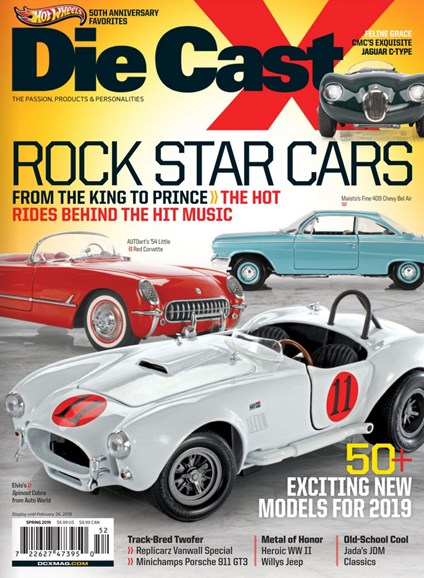 Diecast X Cover - 3/1/2019