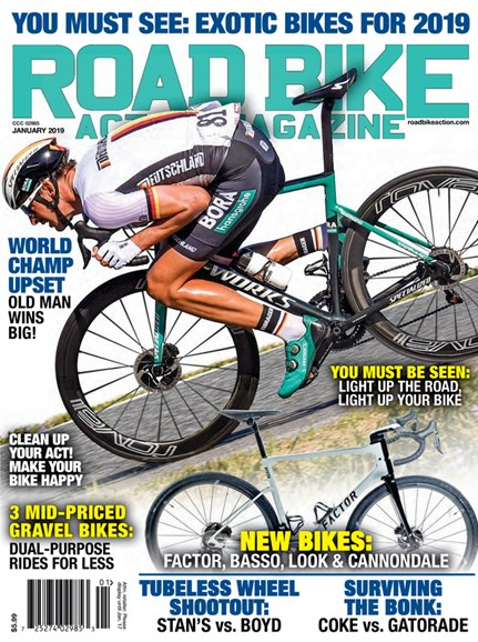 Road Bike Action Cover - 1/1/2019