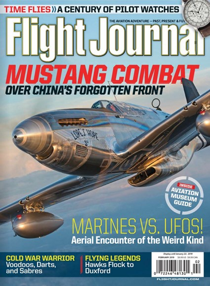 Flight Journal Cover - 2/1/2019