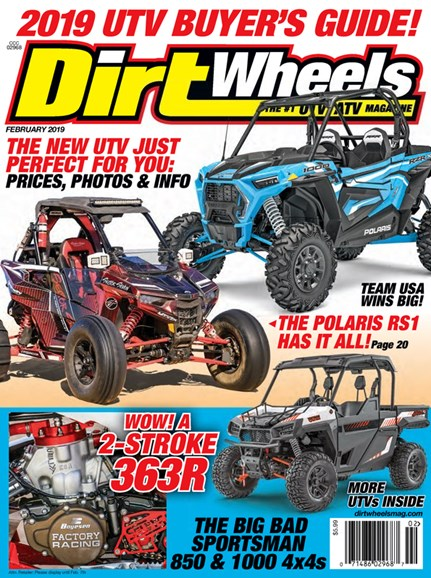 Dirt Wheels Cover - 2/1/2019