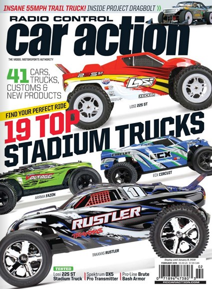 Radio Control Car Action Cover - 2/1/2019