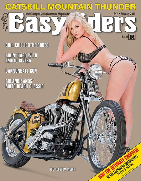 Easyriders Cover - 2/1/2019