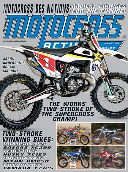 Motocross Action Cover - 1/1/2019