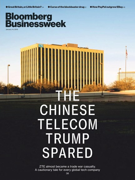 Bloomberg Businessweek Cover - 1/14/2019