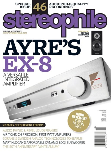 Stereophile Cover - 2/1/2019